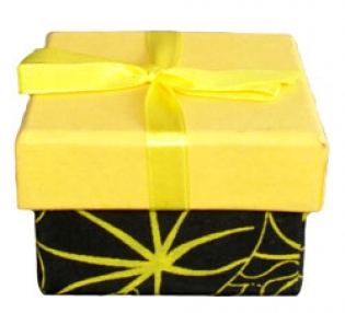 Black Yellow With Ribbon